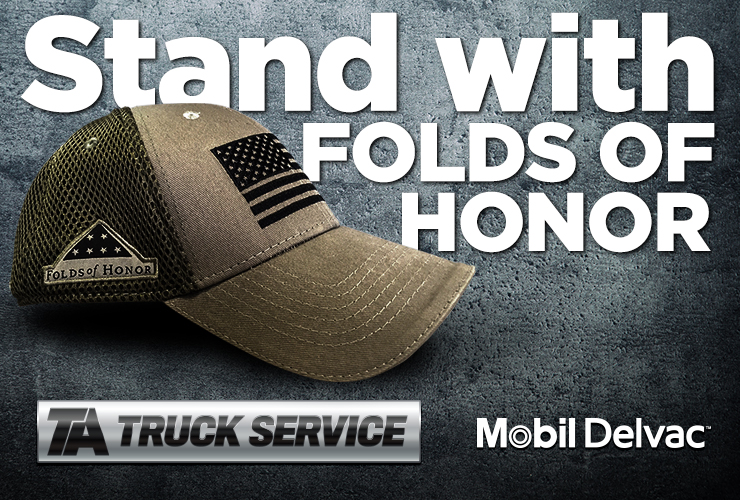 Stand with Folds of Honor
